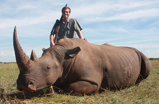 Rhino Hunting in South Africa